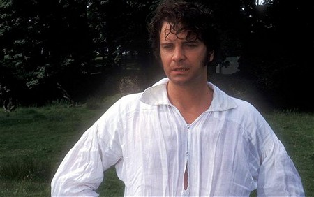 Colin Firth dripping wet with sex as Mr. Darcy in Pride and Prejudice (1995)
