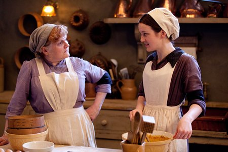 Downton Abbey Season 3 Episode 5: Mrs Patmore and Daisy