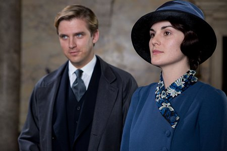 Downton Abbey Season 3 Episode 6: Matthew and Mary Crawley