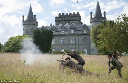 Downton Abbey Season 3 Episode 7: Duneagle Castle, Scotland