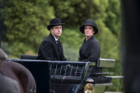 Downton Abbey Season 3 Episode 7: Moseley and O'Brien
