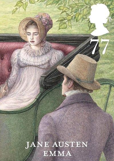 Jane Austen Stamp: Emma (2013)