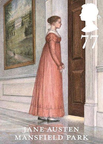 Jane Austen Stamp: Mansfield Park (2013)