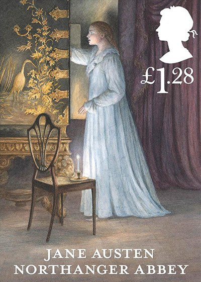 Jane Austen Stamp: Northanger Abbey (2013)