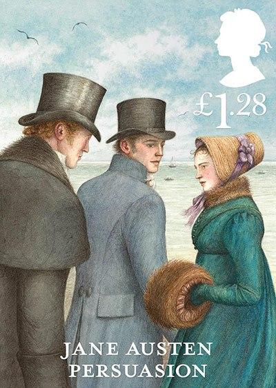 Jane Austen Stamp: Persuasion (2013)
