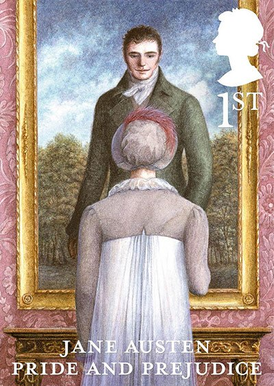 Jane Austen Stamp: Pride and Prejudice (2013)
