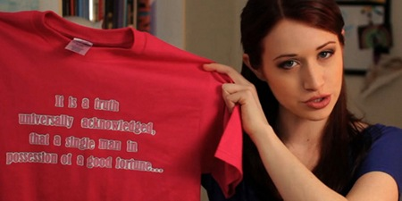 The Lizzie Bennet Diaries opening