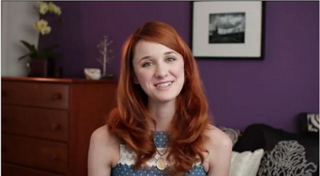 The Lizzie Bennet Diaries: Laura Spencer as Jane Bennet