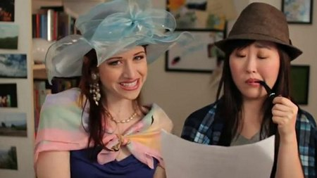 The Lizzie Bennet Diaries Lizzie: and Charlotte