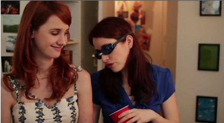 The Lizzie Bennet Diaries: Lizzie as a swimmer