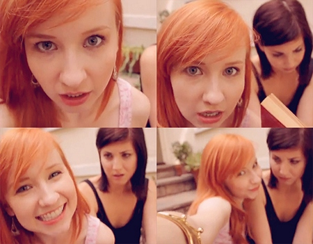 The Lizzie Bennet Diaries: Lydia montage