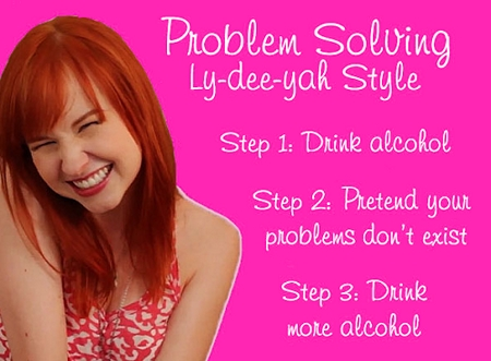 The Lizzie Bennet Diaries: Lydia's life problem solutions