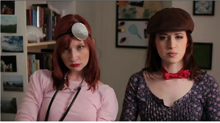 The Lizzie Bennet Diaries: Lydia says Man Banana