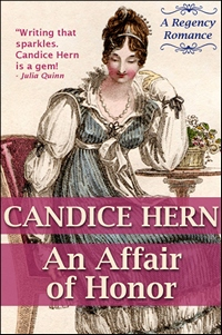 Image of the book cover of An Affair of Honor, by Candice Hern (2012)