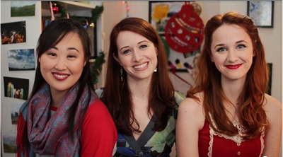 Image from The Lizzie Bennet Diaries: Charlotte, Lizzie and Jane © 2013 The Lizzie Bennet Diaries