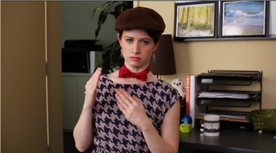 Image from The Lizzie Bennet Diaries: DarcyBot