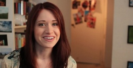 Image from The Lizzie Bennet Diaries: Lizzie