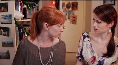 Image from The Lizzie Bennet Diaries: Lydia and Lizzie © 2013 The Lizzie Bennet Diaries