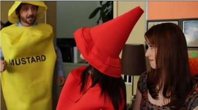 Image from The Lizzie Bennet Diaries: staff spirit costumes