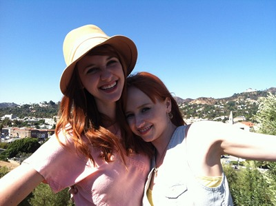 Image from The Lydia Bennet Videos: Jane and Lydia Bennet