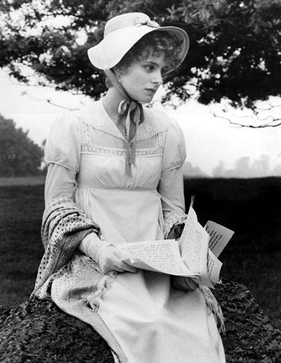 Image from Pride and Prejudice 1980: Elizabeth Garvie as Elizabeth Bennet © 2004 BBC Worldwide