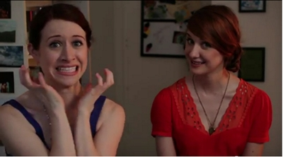 Image from The Lizzie Bennet Diaries: Lizzie and Jane