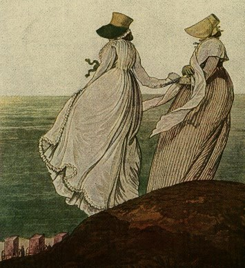 Image from the Gallery of Fashion September 1797, Morning Dress