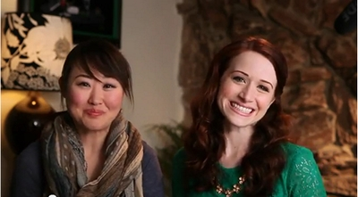 The Lizzie Bennet Diaries: Charlotte and Lizzie © 2013 The Lizzie Bennet Diaries
