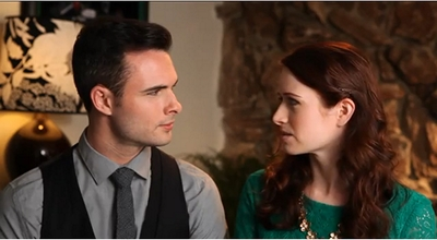 The Lizzie Bennet Diaries Darcy and Lizzie © 2013 The Lizzie Bennet Diaries