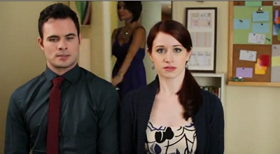 Image from The Lizzie Bennet Diaries: Darcy and Lizzie © 2013 The Lizzie Bennet Diaries