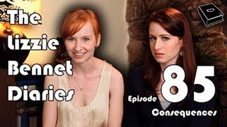 Image from The Lizzie Bennet Diaries: Episode 85 Consequences © 2013 The Lizzie Bennet Diaries