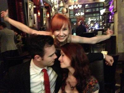 The Lizzie Bennet Diaries: Finale: Lydia, Darcy and Lizzie © 2013 The Lizzie Bennet Diaries
