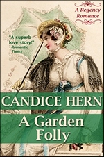 Image of the book cover of A Garden Folly © 2012 Candice Hern