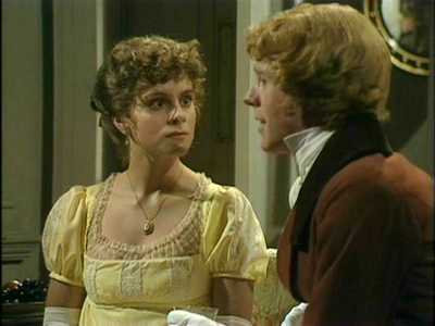 Image from Pride and Prejudice 1980: Elizabeth Bennet and George Wickham © 2004 BBC Worldwide