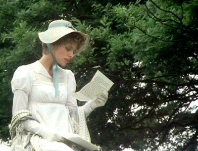 Image from Pride and Prejudice 1980: Elizabeth Bennet © 2004 BBC Worldwide