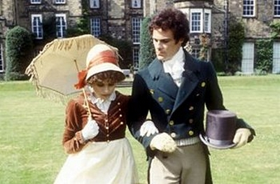 Image from Pride and Prejudice 1980: Elizabeth Bennet and Mr. Darcy © 2004 BBC Worldwide