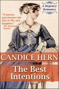 Image of the book cover of The Best Intentions, © Candice Hern 2012