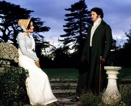 Image from Pride and Prejudice (1995) Jennifer Ehle and Colin Firth © 1995 BBC & A&E