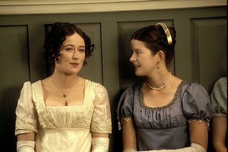 Pride and Prejudice (1995) Jennifer Ehle and Lucy Scott