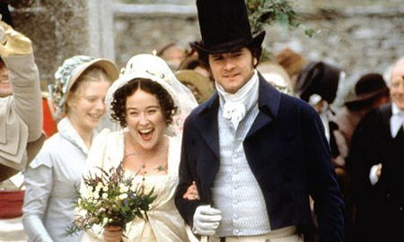 Pride and Prejudice (1995) Wedding scene of Elizabeth and Darcy