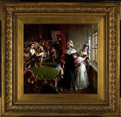 Alfred Elmore, The Tuileries, June 20, 1792. 1860, oil on canvas. Musée de la Révolution francaise