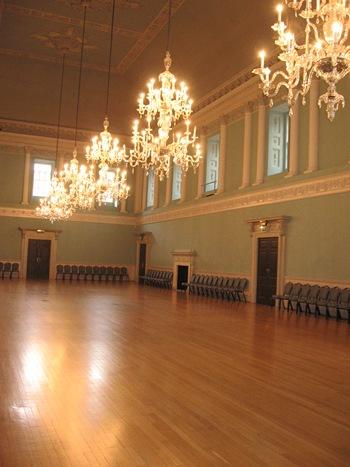 Jane Austen Tour Assembly Rooms, Bath 2013