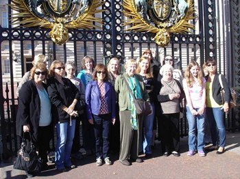 Jane Austen Tour at Buckingham Palace 2013