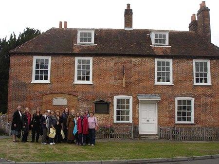 Jane Austen Tour at Chawton Cottage 2013