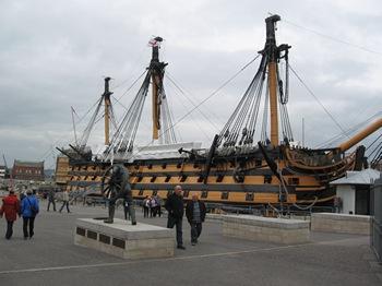 Jane Austen Tour HMS Victory, Portsmouth 2013