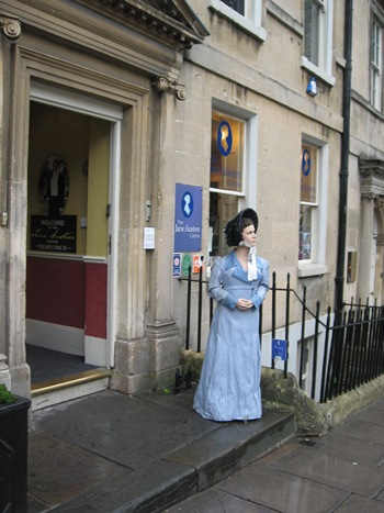 Jane Austen Tour Jane Austen Centre, Bath 2013