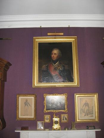 Jane Austen Tour Portrait of Lord Nelson 2013