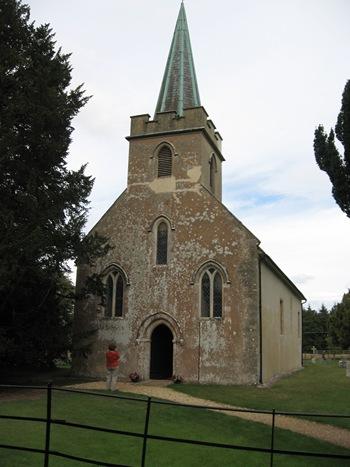 Jane Austen Tour St. Nicholas Chruch, Steventon 2013