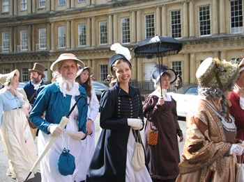 Jane Austen Tour The Regency Promenade 2013