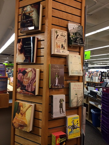 Austen power column at University Bookstore 2013